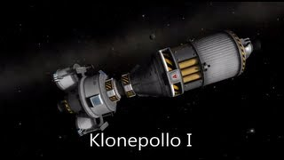 Klonepollo 17 - Munar Landing & Docking in Kerbal Space Program 0.18