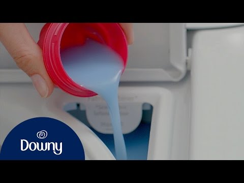 How To Use Fabric Conditioner | Downy
