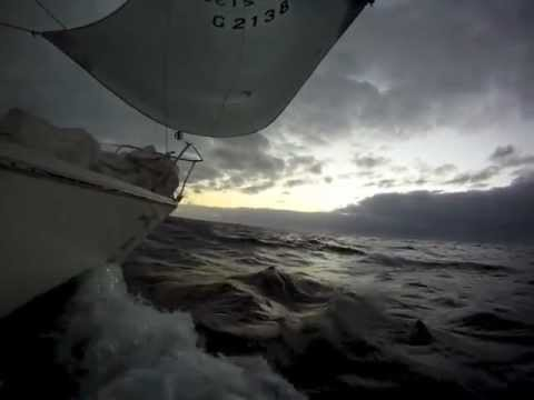 Atlantic sailing - Bay of Biscay to Canary Islands