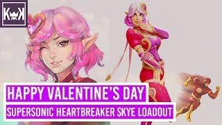 Happy Valentine's Day: Supersonic Heartbreaker Skye Loadout | Paladins (Console PS4 Pro 1080p 60fps)