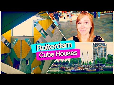 ROTTERDAM CUBE HOUSES! | Rotterdam, Netherlands Travel Vlog