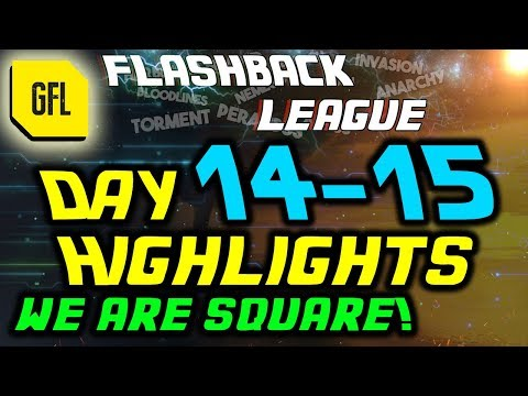 Path of Exile 3.2: Flashback League DAY #14-15 Highlights Now we are square