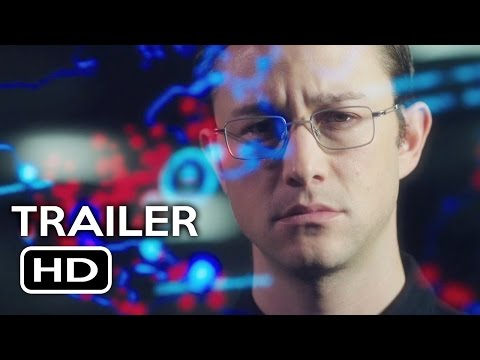 Snowden Official Trailer #1 (2016) Joseph Gordon-Levitt, Shailene Woodley Movie HD