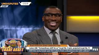 Undisputed   Will this lucky break save Lakers from a disastrous era with LeBron?-Rob Parker DOUBTED
