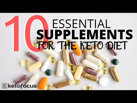 TOP 10 SUPPLEMENTS FOR THE KETO DIET | PHARMACIST RECOMMENDED