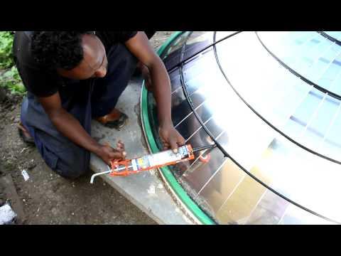 Parabolic Solar Dish Collector