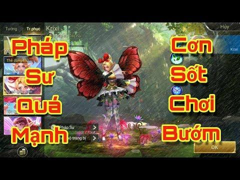 [Gcaothu] Cơn sốt khiến các game thủ chết mê chết mệt vì Bướm - Krixi quá mạnh để leo rank