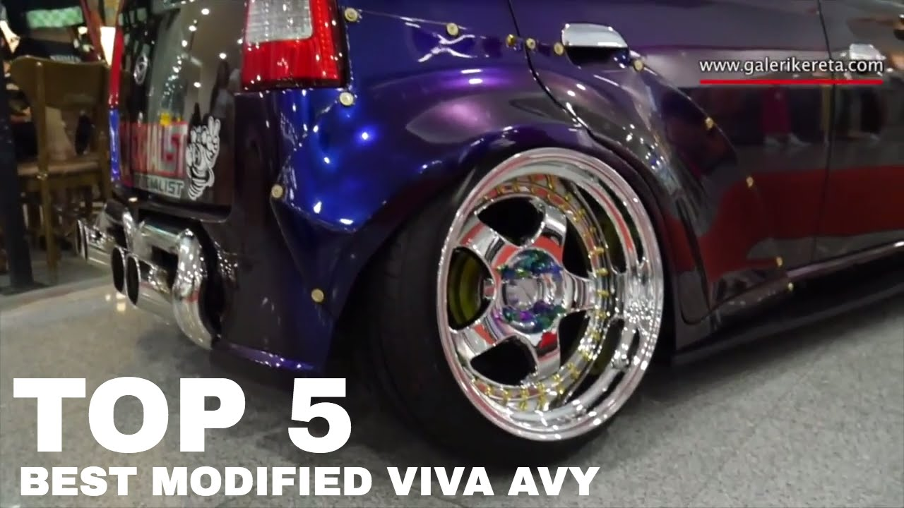 TOP 5 Best Compilation Modified Perodua Viva Avy Daihatsu
