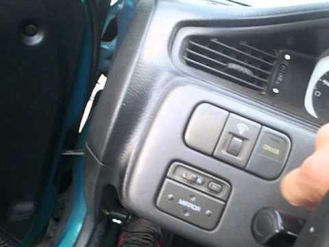 95 Honda Civic EJ2 stealthhidden push button start  YouTube