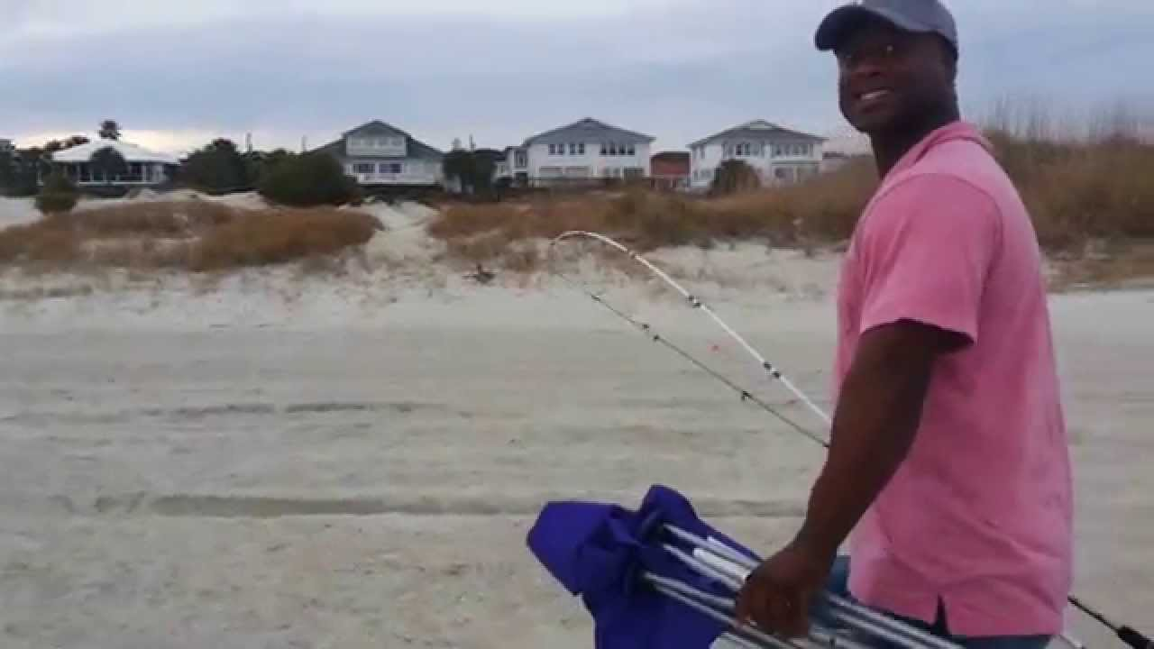 Gone fishing tybee island youtube for Elias v fishing