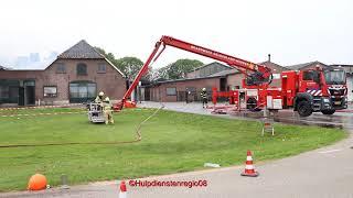 Beelden tp bij grote brand Herveld