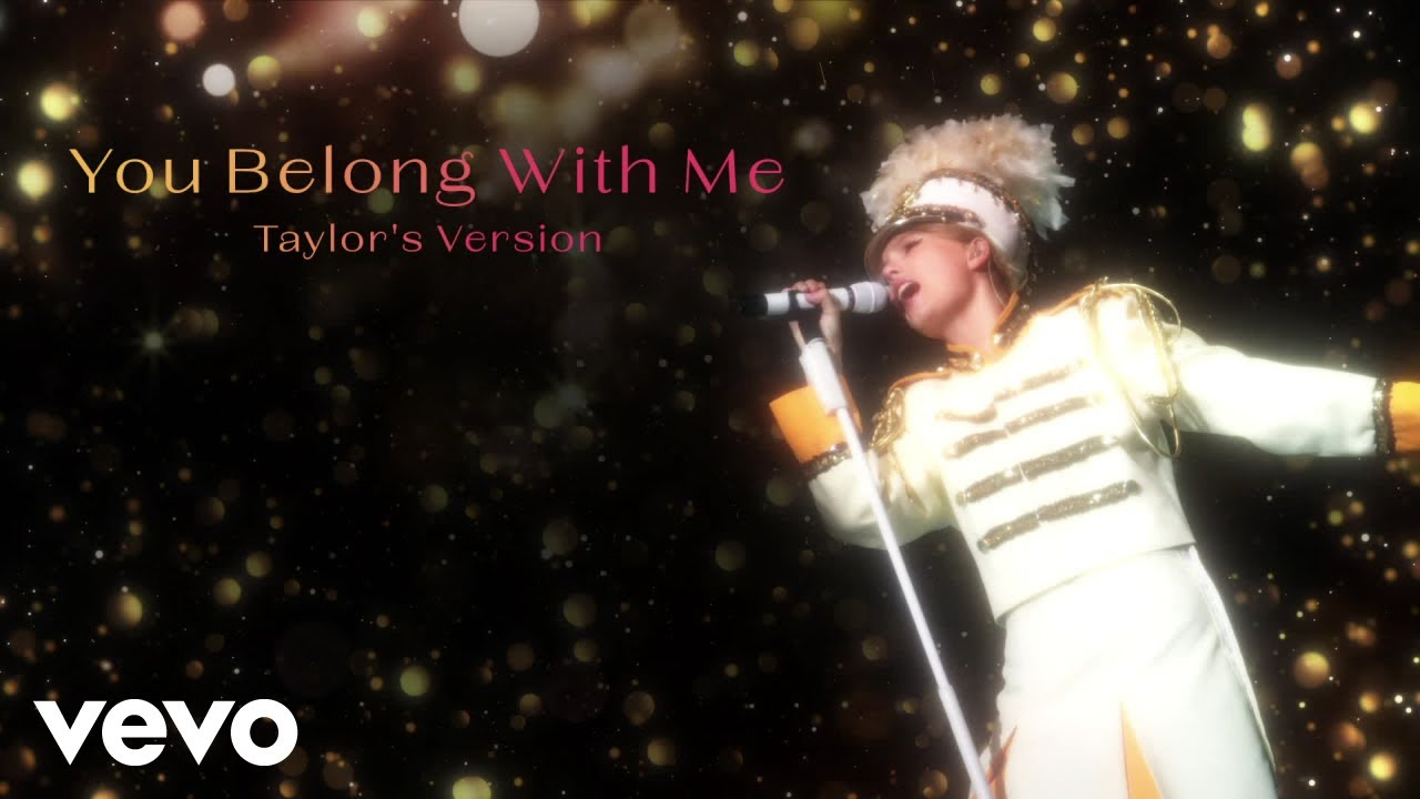 Download Taylor Swift - You Belong With Me (Taylor's Version) (Lyric Video)