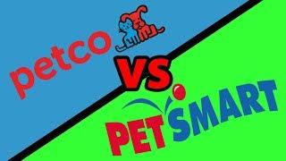 PETSMART vs PETCO - Fish Store Review