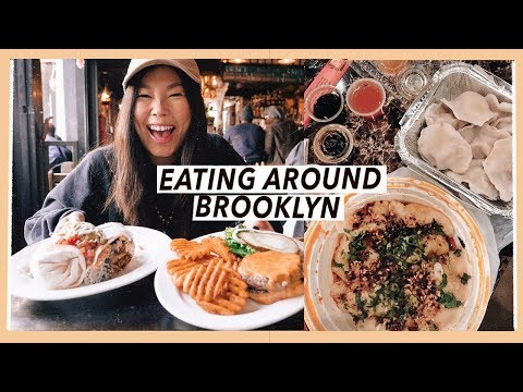 Eating All Around Brooklyn | NYC Food Travel Vlog