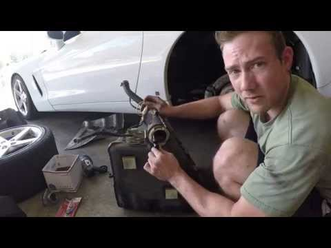 C6 Corvette Fuel Tank Removal - Part 1