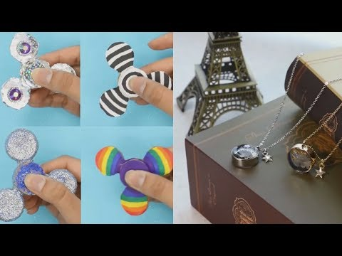 Cool DIY Project Ideas (How To Make A Fidget Spinner & More)