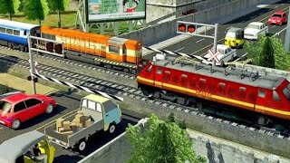 Indian Train Simulator 2018-best android games-train games 3d-gameplay
