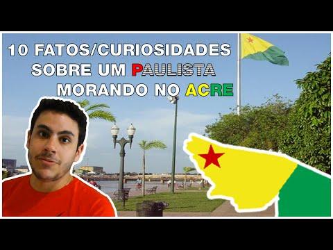10 Fatos/Curiosidades Sobre Um Paulista No Acre