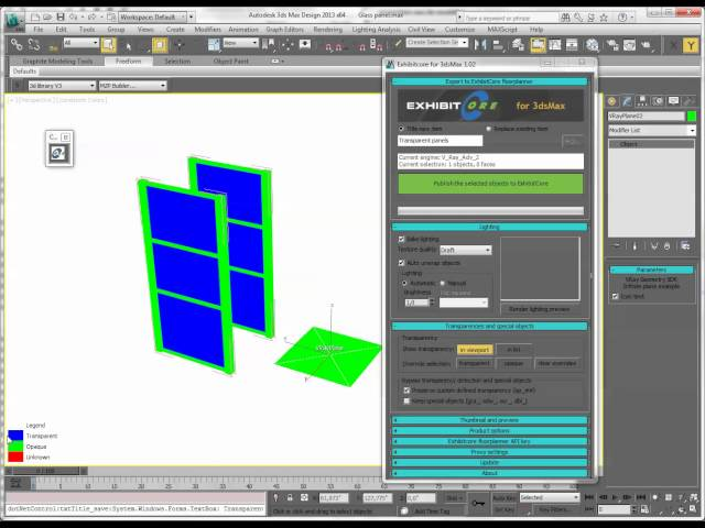 ExhibitCore 3ds Max plug-in