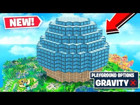 *NEW* MOON ZERO-GRAVITY Gamemode In Fortnite Battle Royale!