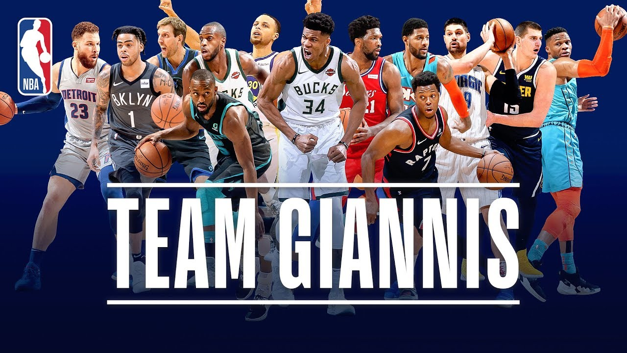 The Best Of Team Giannis This Season  Nba All Star Youtube