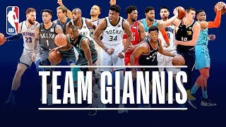 The Best Of Team Giannis This Season | 2019 NBA All-Star