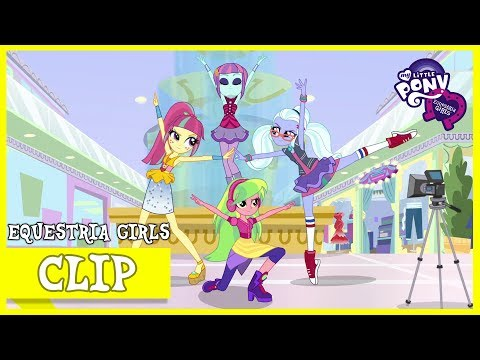 Return of the Shadowbolts / Rainbooms Rehearsal | MLP: Equestria Girls | Special: Dance Magic [HD]