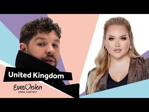 Eurovisioncalls James Newman - United Kingdom 🇬🇧 with NikkieTutorials