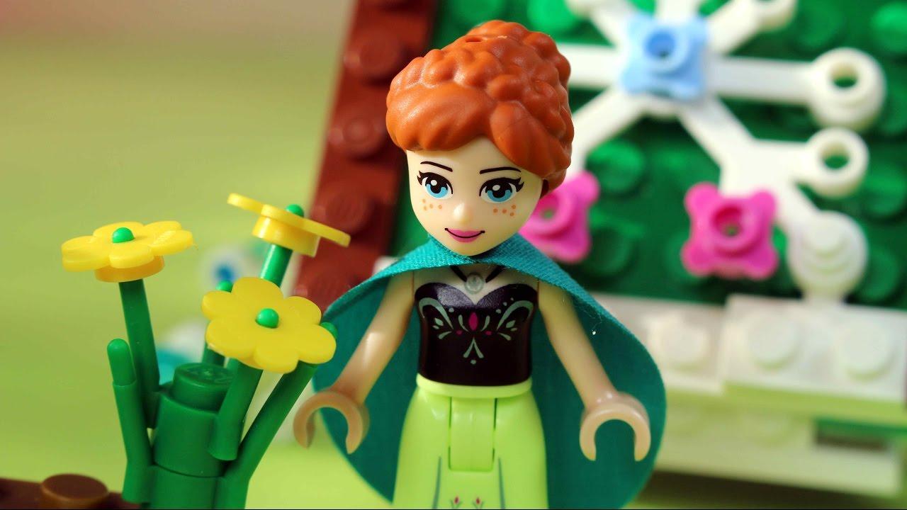 Pierwszy Dzień Wiosny Klocki Lego Disney Frozen Lego Friends
