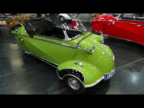 1957, Messerschmitt Kabinenroller KR 201 Roadster by Automobile Classics on YouTube