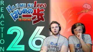 SOS Bros React - Hajime No Ippo Season 1 Episode 26 - Mashiba's Resolve + Ippo's Plan!!