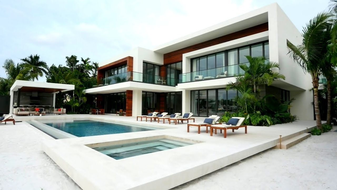 stunning villa plan.  Luxury Best Modern House Plans and Designs Worldwide YouTube