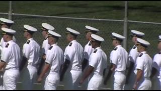 SUNY Maritime Indoc Graduation 2013 - Walking In