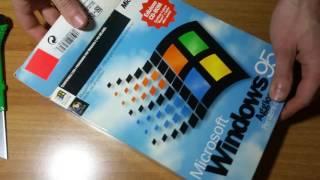 Retro UNBOXING Microsoft WINDOWS 95 Update
