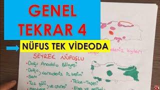 COĞRAFYA-GENEL TEKRAR 8 NÜFUS