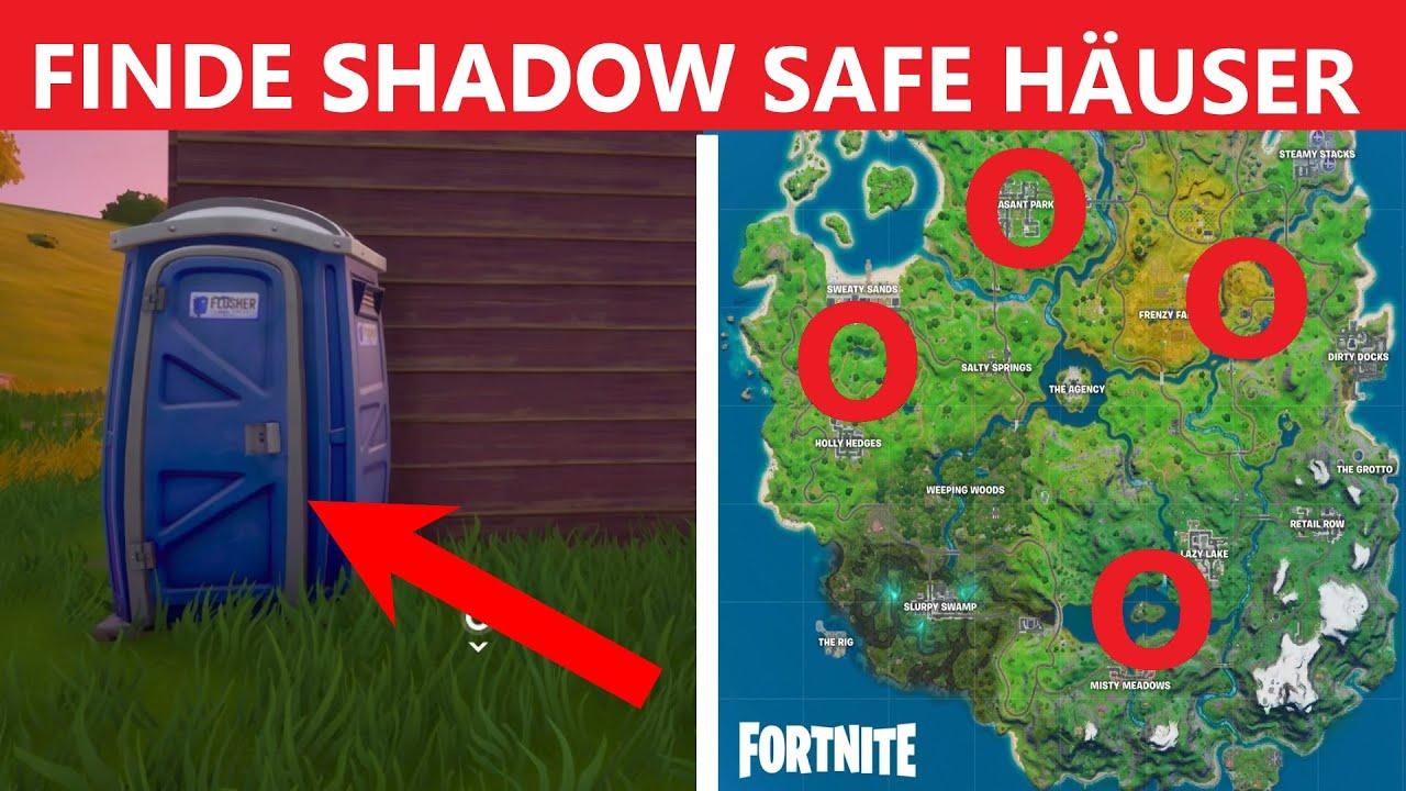 Shadow Unterschlüpfe Fortnite