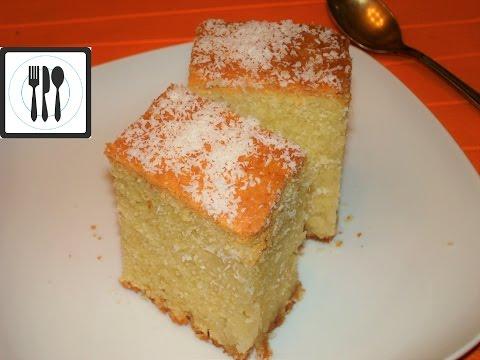 Манник РЕВАНИ - турецкая сладость (десерт), пропитанная щербетом со вкусом лимона./ Revani tarifi