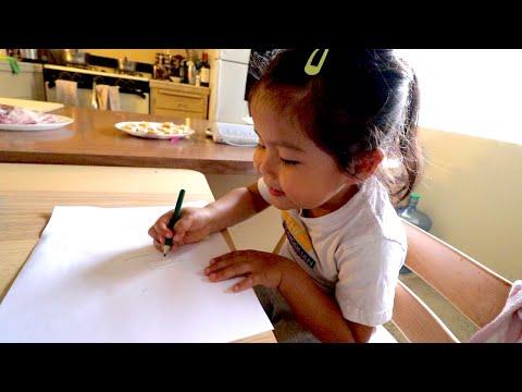 Нара бичиж сурж байна | The Mongolian Family