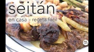 Como hacer seitan – carne vegana, en casa, paso a paso, fácil de hacer