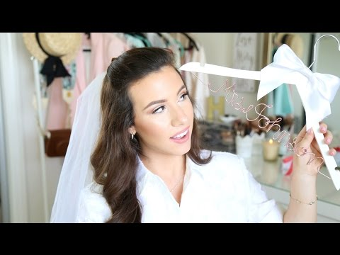 Wedding Updates Vlog: Veil, Invites, Favors, Decor | hayleypaige | weddingready