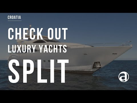 Luxury Yachts in Croatia  | Air Video | Yacht Charter | Yacht Concierge service antropoti