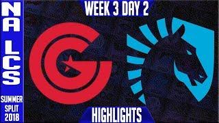 Video CG vs TL Highlights | NA LCS Summer 2018 Week 3 Day 2 | Clutch Gaming vs Team Liquid download MP3, 3GP, MP4, WEBM, AVI, FLV Agustus 2018