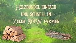 Holz & Holzbündel schnell und einfach in Zelda BotW finden - Fundort - Location - Ort - Farmspot