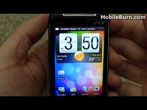 HTC EVO Shift 4G for Sprint review - part 2 of 2