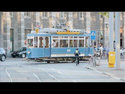 Radio DJs Experience Zurich on a Vintage Tram