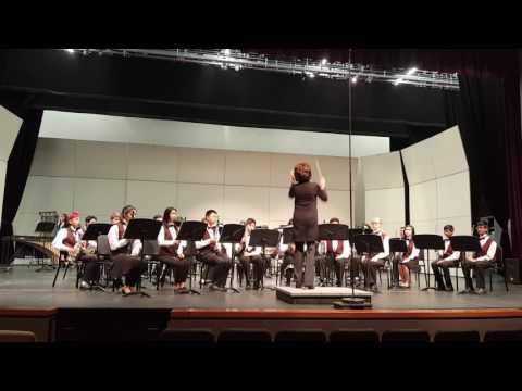 Chaboya Middle School Band CMEA 2017