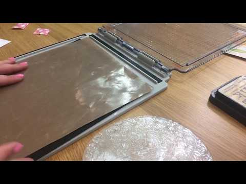 How to use the stampers foam in your Tim Holtz platform for   perfect results every time