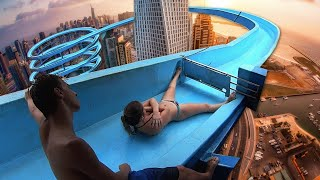 Top 10 MOST INSANE BANNED Waterslides YOU CAN'T GO ON ANYMORE! MP3
