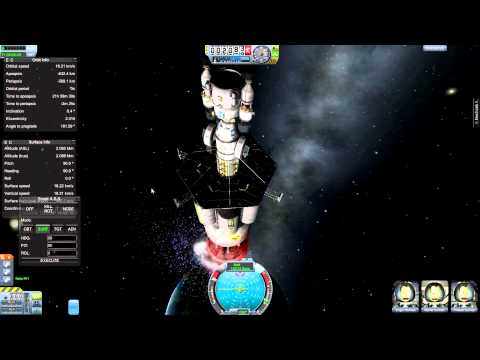 Kerbal Space Program - 'Orion' Nuclear Pulse Rocket