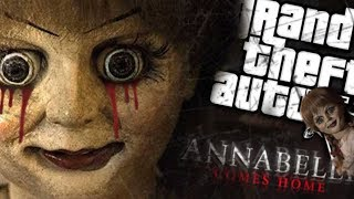 The NEW Annabelle becomes Human Size MOD (GTA 5 PC Mods Gameplay)